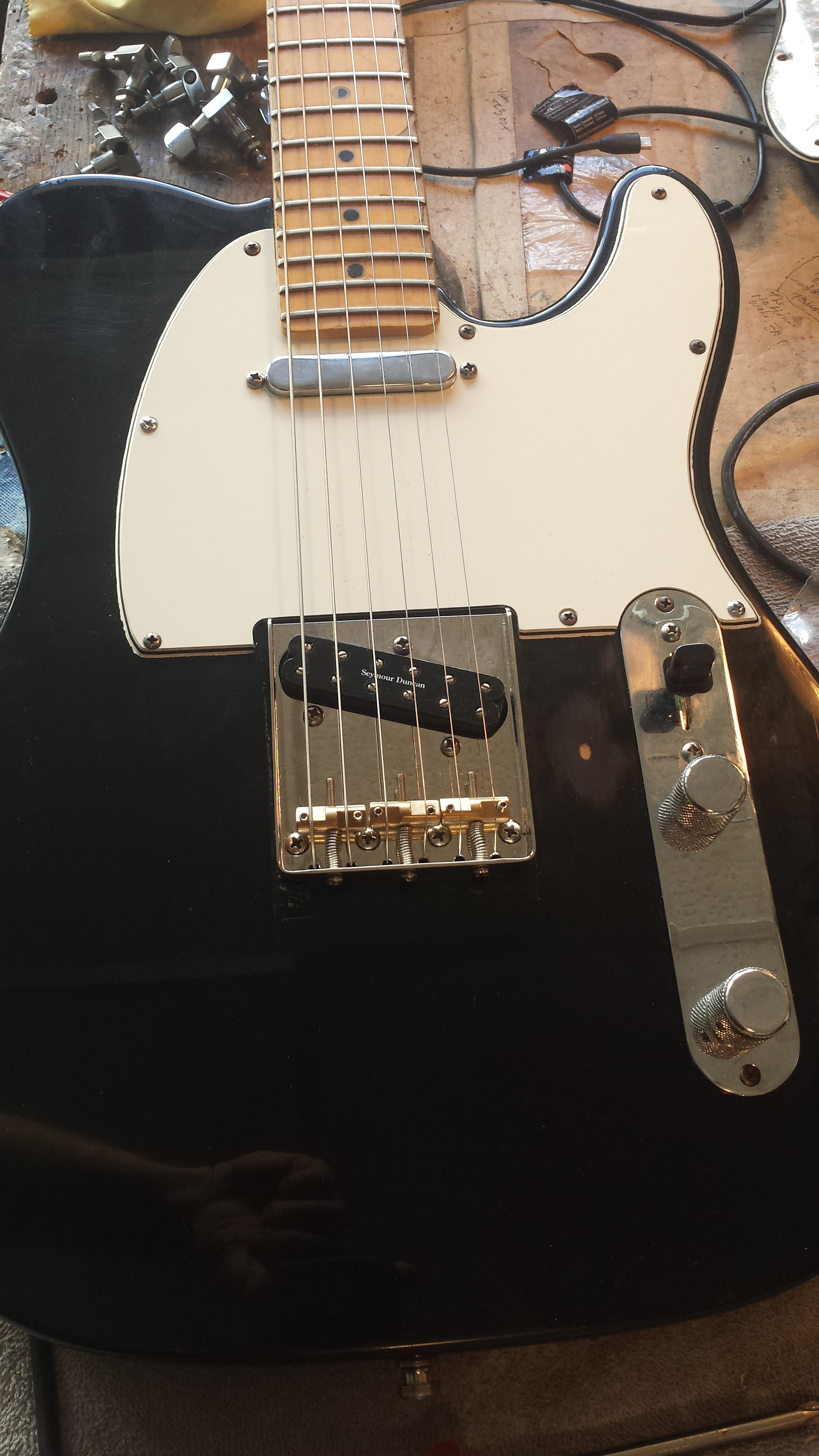 Delighted Strat Wiring Mods Big Bulldog Security Products Rectangular Les Paul 3 Pickup Wiring Diagram Installing A Remote Start Youthful Www Bulldog Com DarkBulldog Security System Making It Work: Vintage Izing A Tele In A Rush | Portland Custom Shop